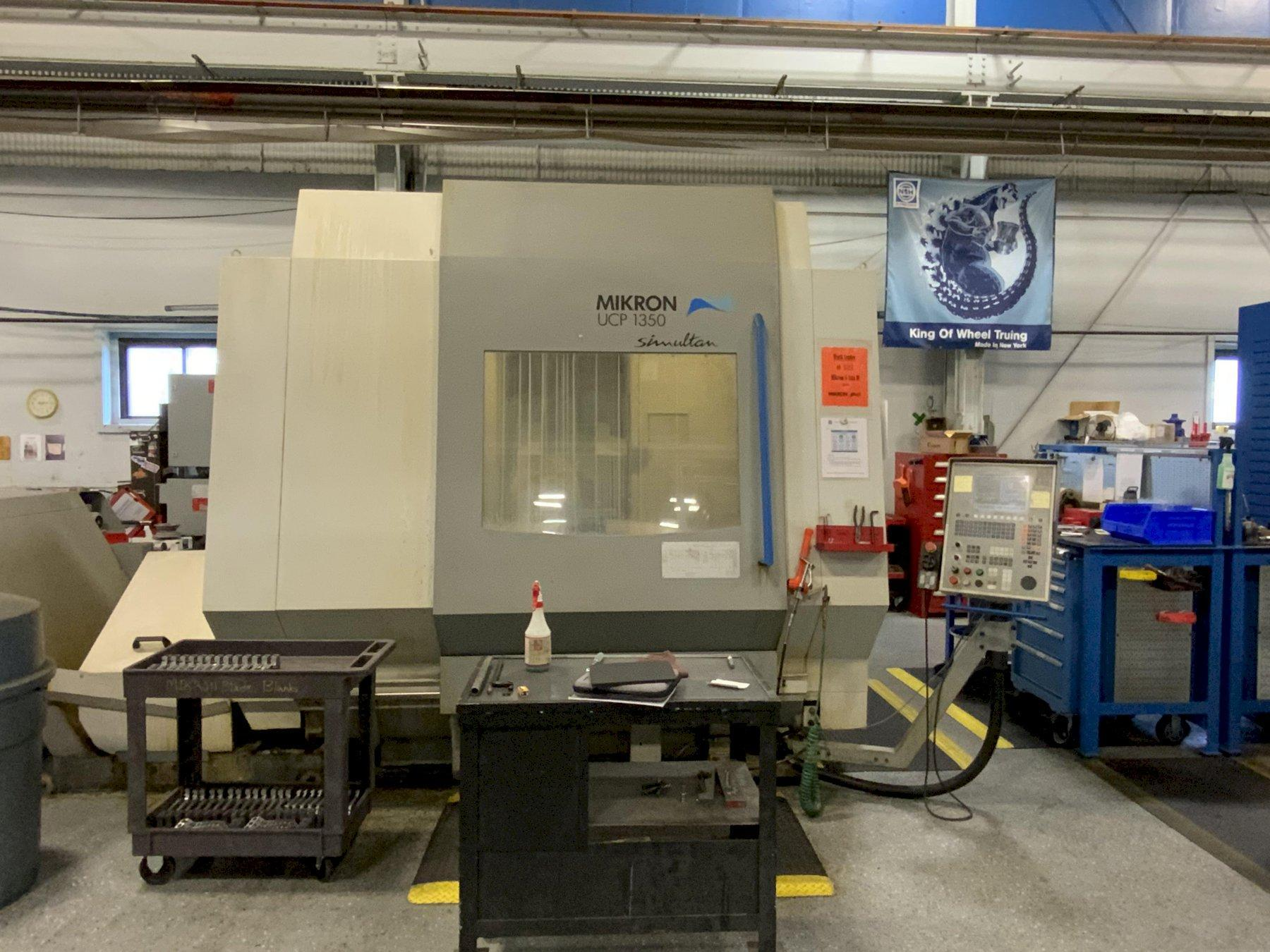 Mikron Model UCP-1350 5-Axis High Speed Universal Machining Center, Mfg. 2002