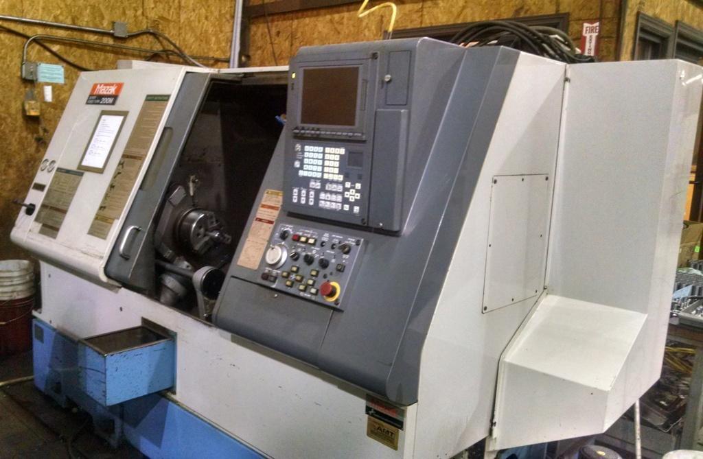 MAZAK MODEL SQT 200M CNC LATHE: STOCK 63934