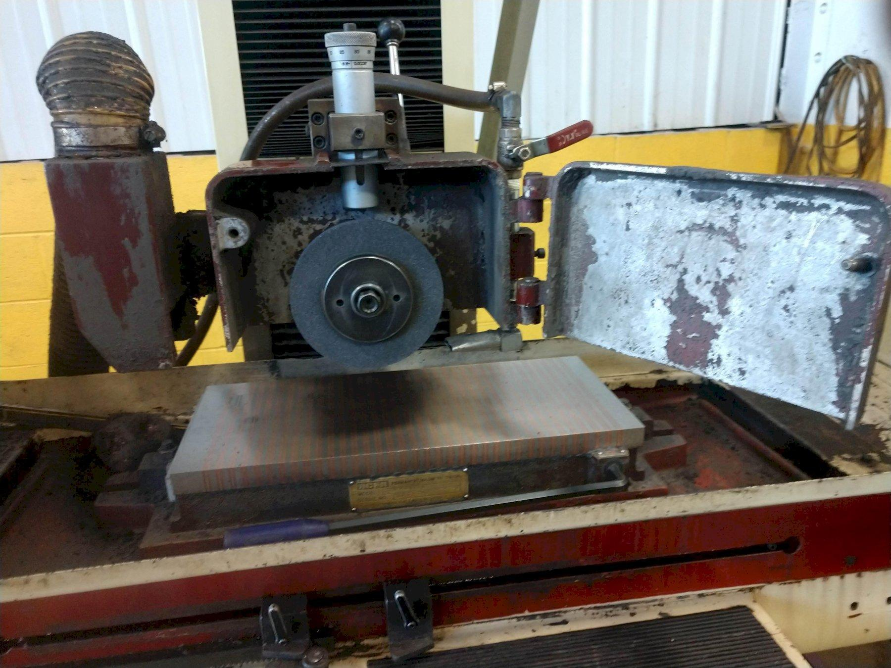 """10"""" x 20"""" ACER MODEL AGS-1020AHD HYDRAULIC HORIZONTAL SURFACE GRINDER"""