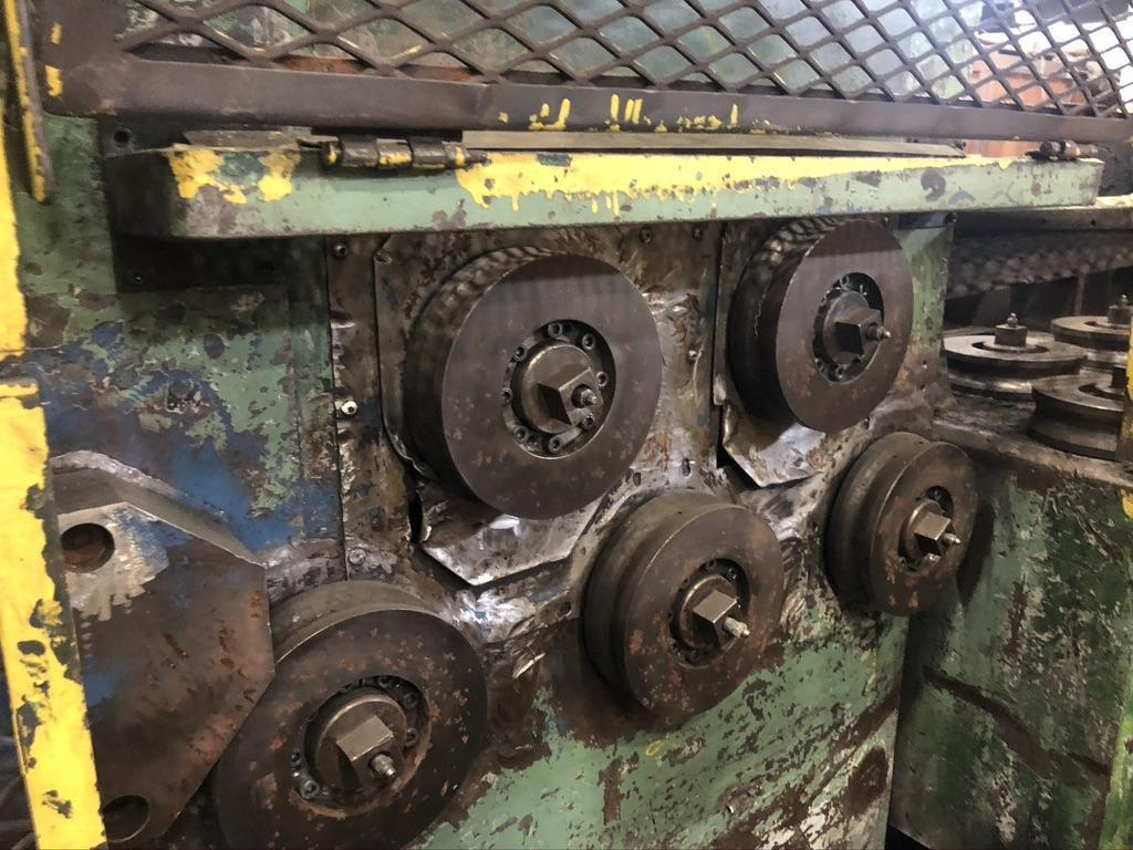 Morgan Heavy Duty Wire Pre Straightener