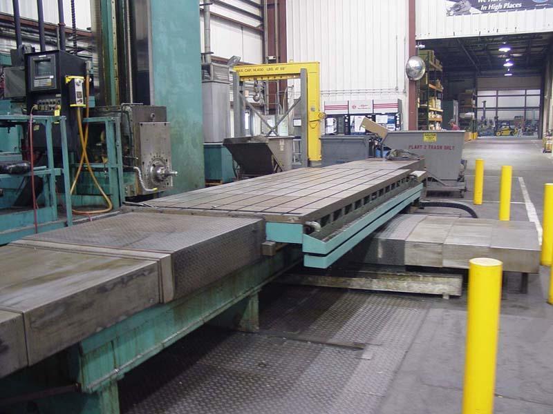 "6"" Lucas Table Type Horizontal Boring Mill"