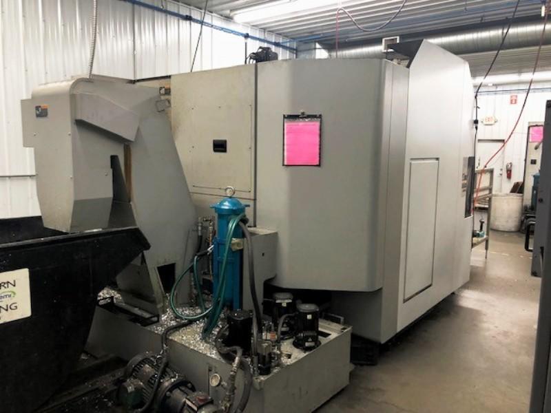 MORI SEIKI NHX4000 HORIZONTAL MACHINING CENTER