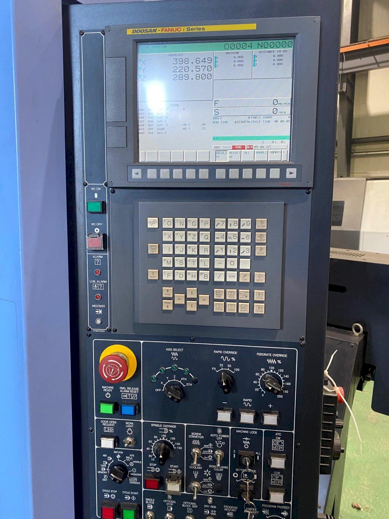 2013 Doosan Mynx 5400 - Vertical Machining Center