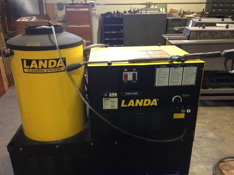 Used Landa Pressure Washer, Model VHG4-3000, 8.2 HP