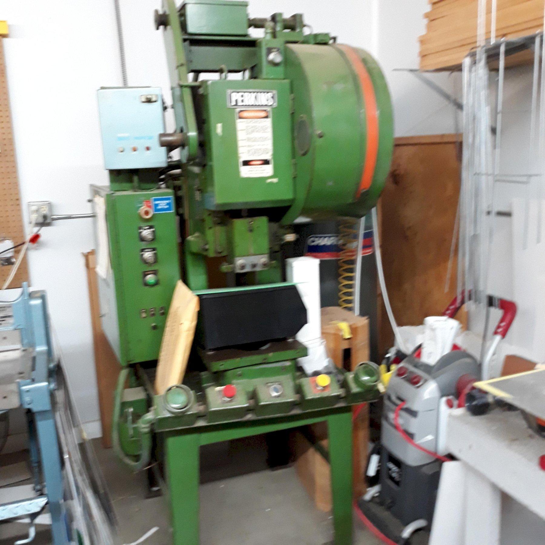 10 Ton Perkins Model 10C OBI Punch Press