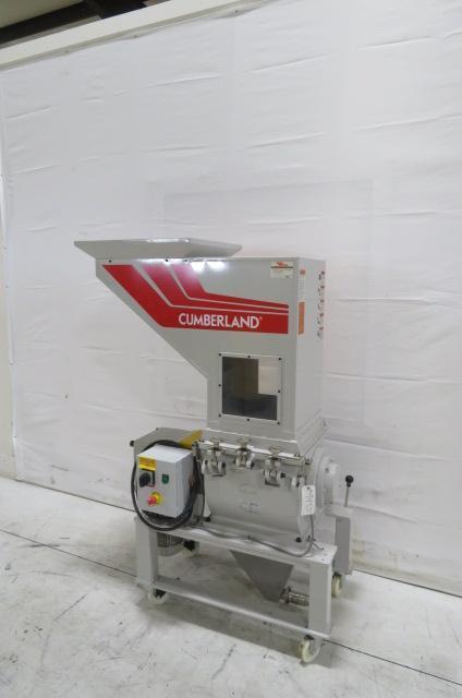 Matsui / Cumberland Used SMGL300 / 1616 Low Speed Screen Granulator, 460V