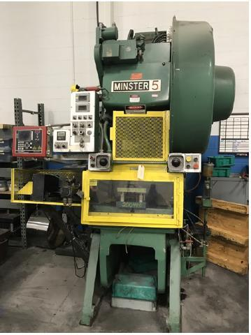 45 TON MINSTER FLYWHEEL OBI PRESS