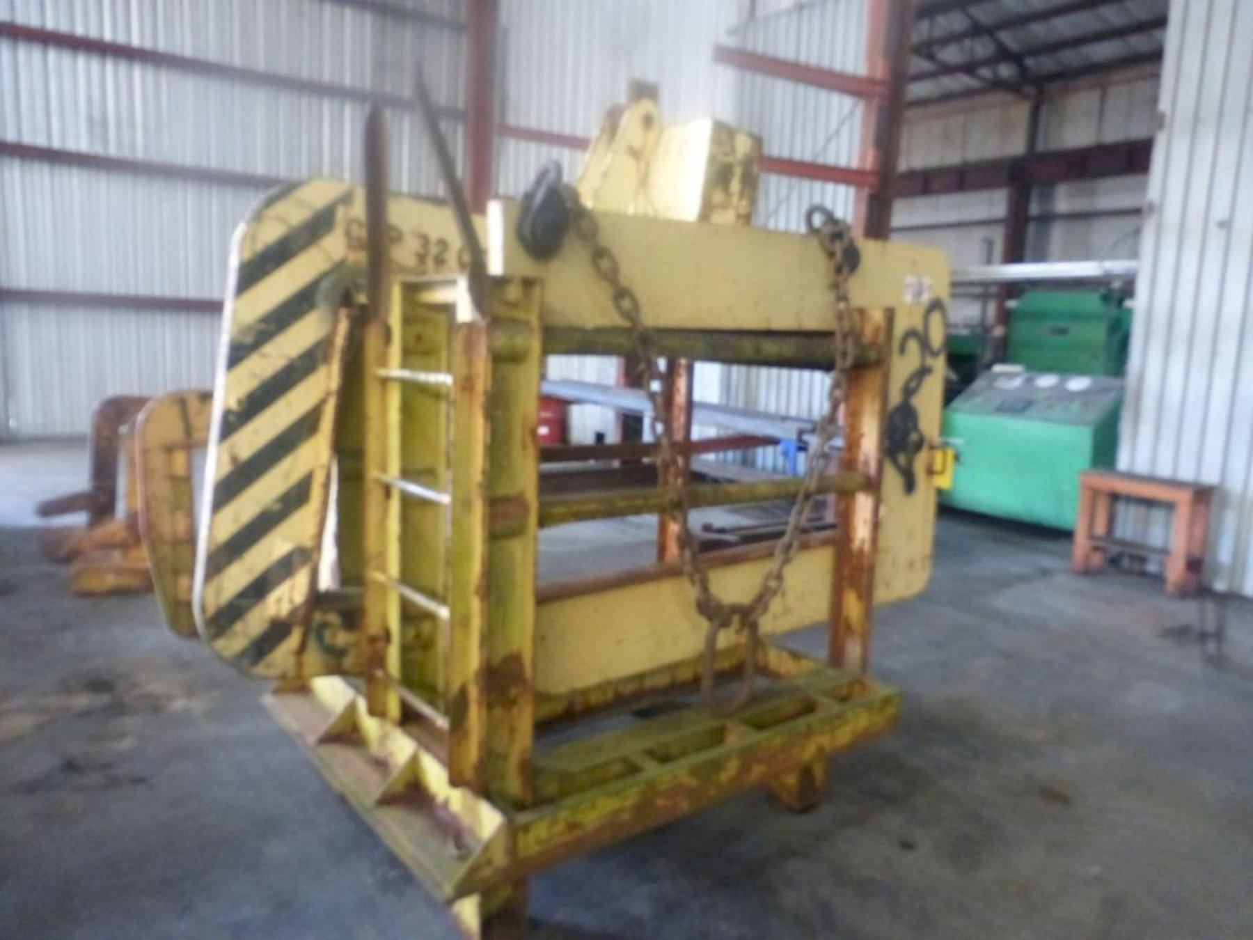 "27,000 LB X 72"" C-FRAME COIL LIFTER: STOCK 13228"