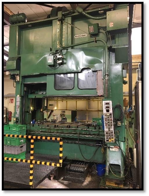 Minster E2-300-96 Straight Side Press, Remanufactured