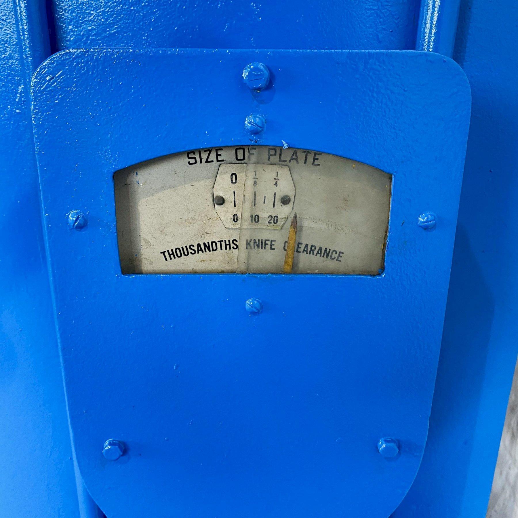 "8' X 1/4"" STEELWELD 4B-8 MECHANICAL SHEAR. STOCK # 0415921"