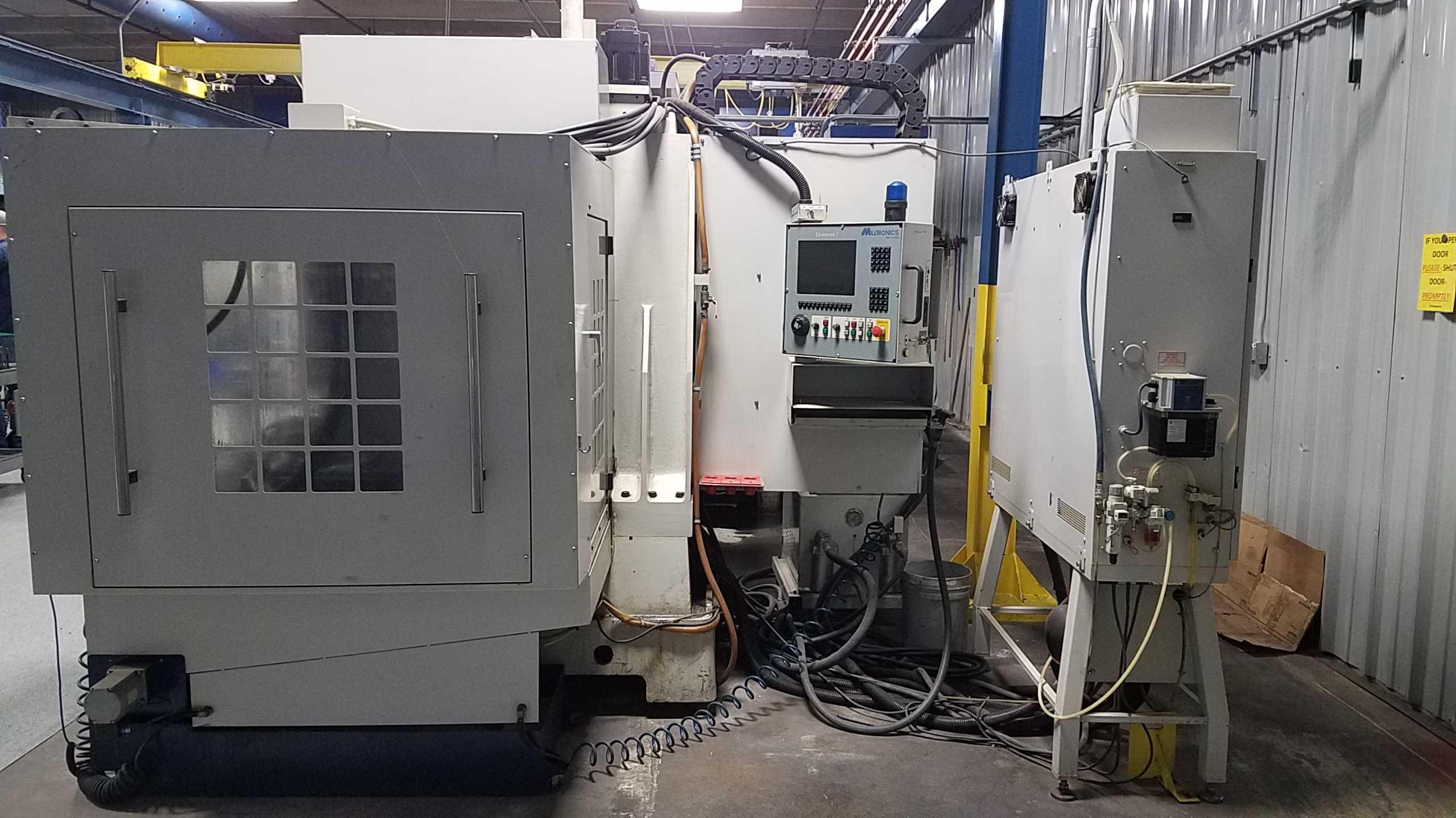 2007 Milltronics HM20 - CNC Horizontal Machining Center