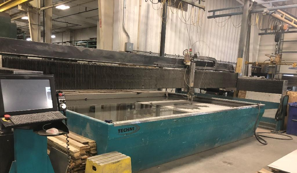 Techni Techjet TJ6000-X2 Waterjet Cutting System