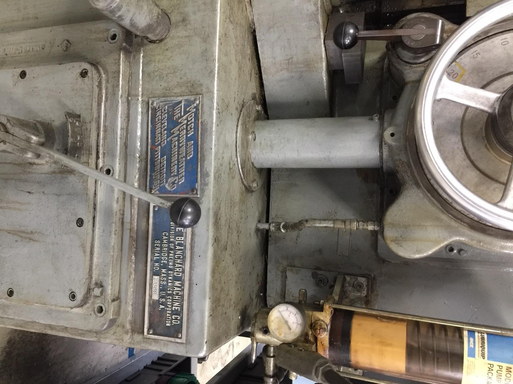 Blanchard #20K-36, 36″ Vertical Spindle Rotary Surface Grinder, 70′, Certified