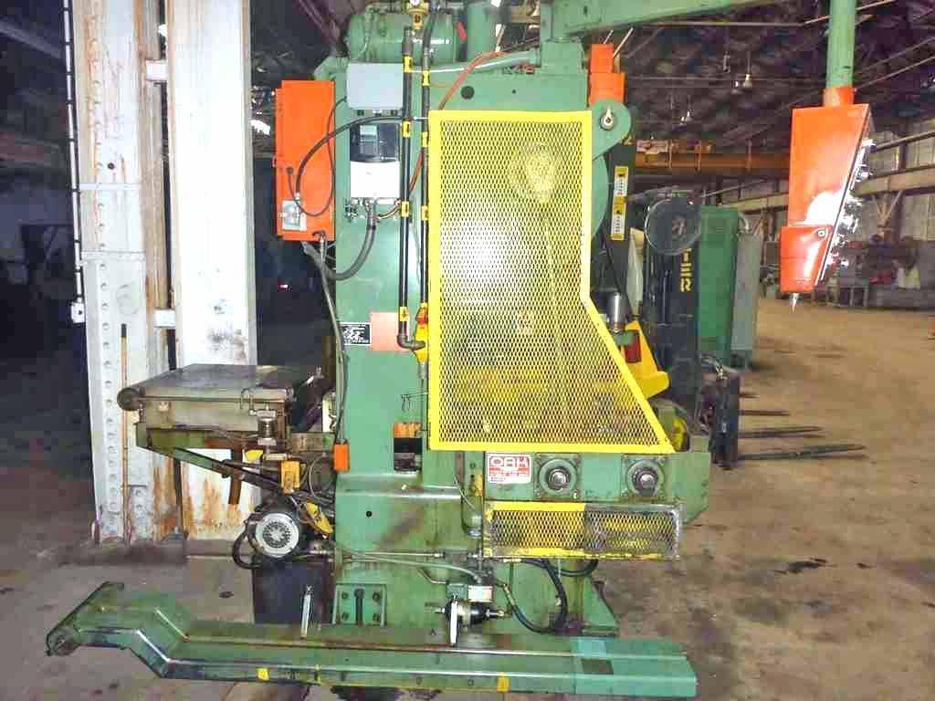 30 Ton Oak Fin Press Line