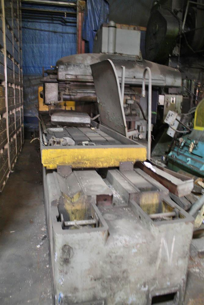 36' X 120' THOMPSON SURFACE GRINDER:  STOCK #8146