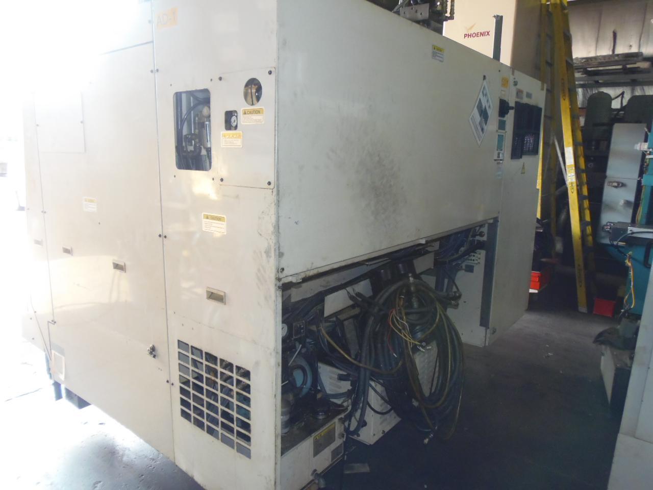 OKUMA LU3000 V8CAM, 4 AXIS CNC LATHE, OSP-E100L CONTROL, 2004