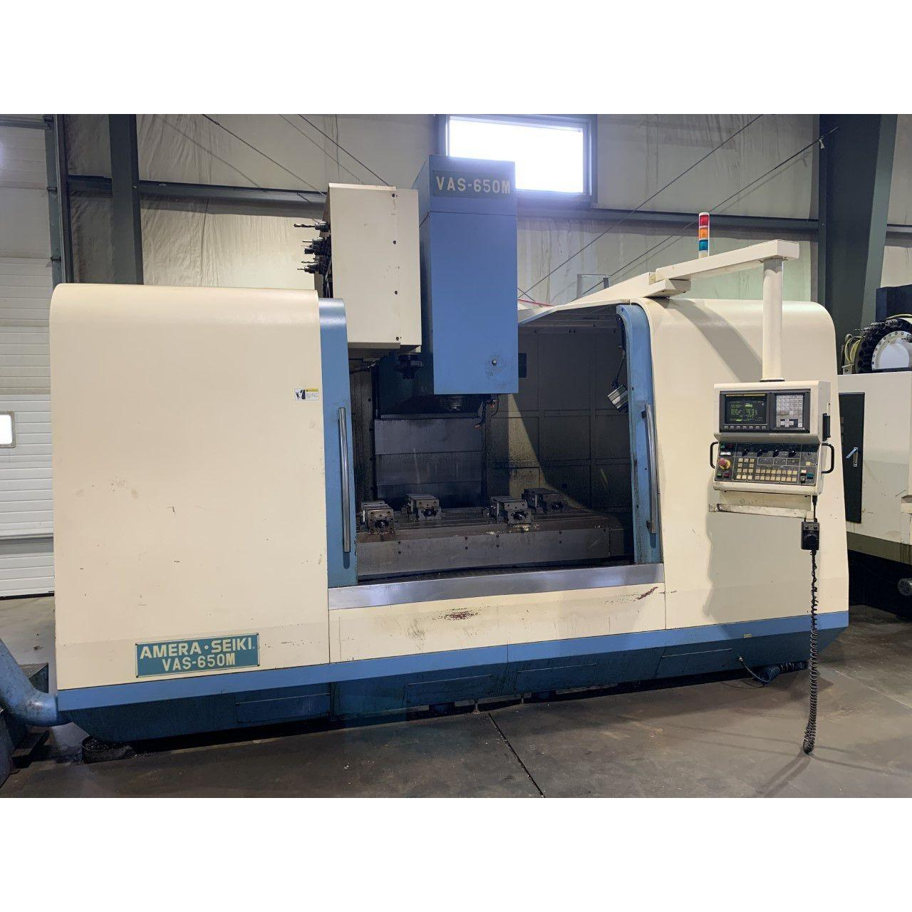 Amera Seiki VAS-650M Vertical Machining Center