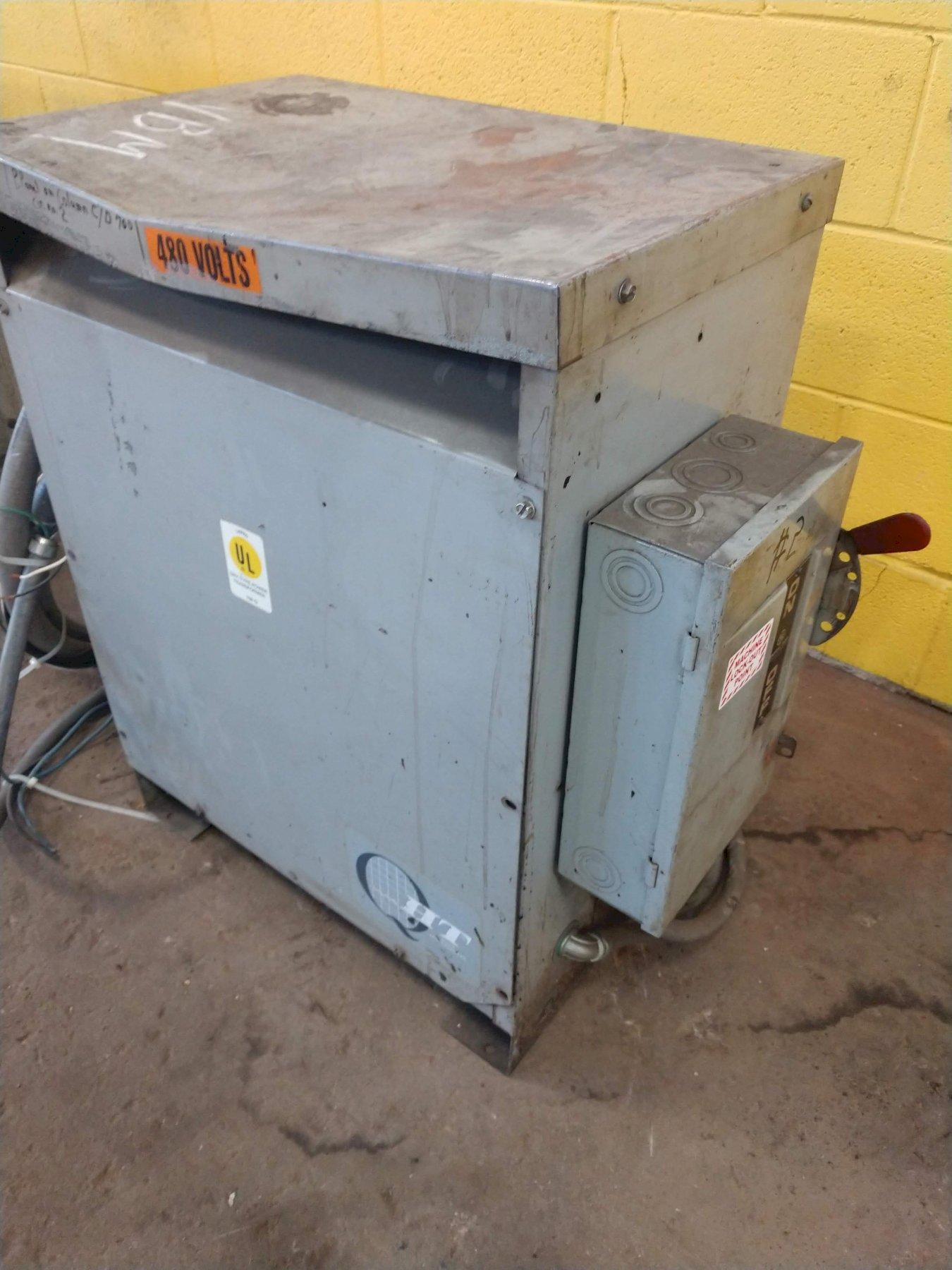 480 VOLT HT TRANSFORMER: STOCK 12904