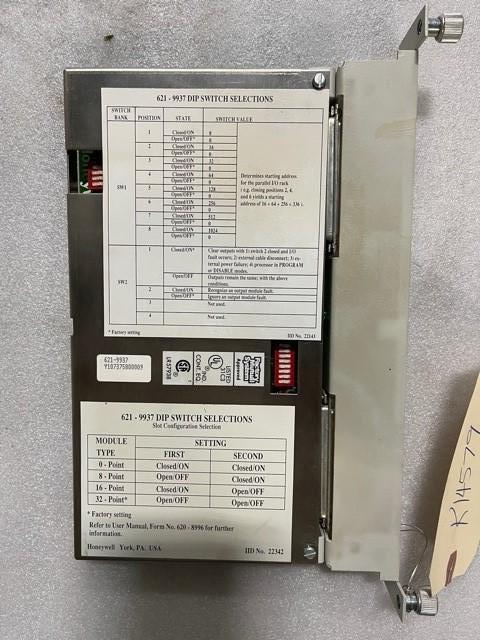 HONEYWELL PLC I/O MODULE, 621-9937