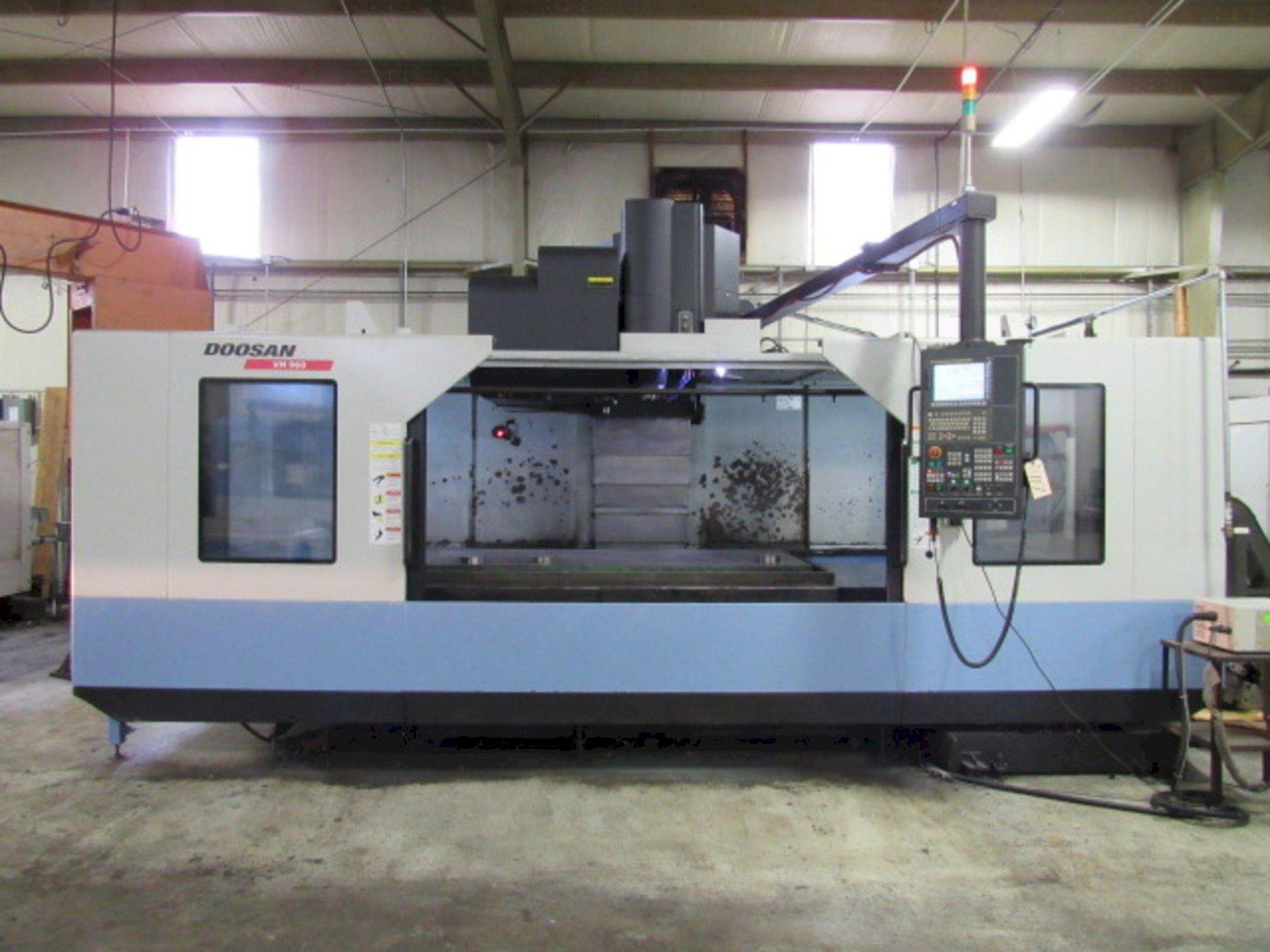 Doosan VM960 CNC Vertical Machining Center, Fanuc 31-B, 79