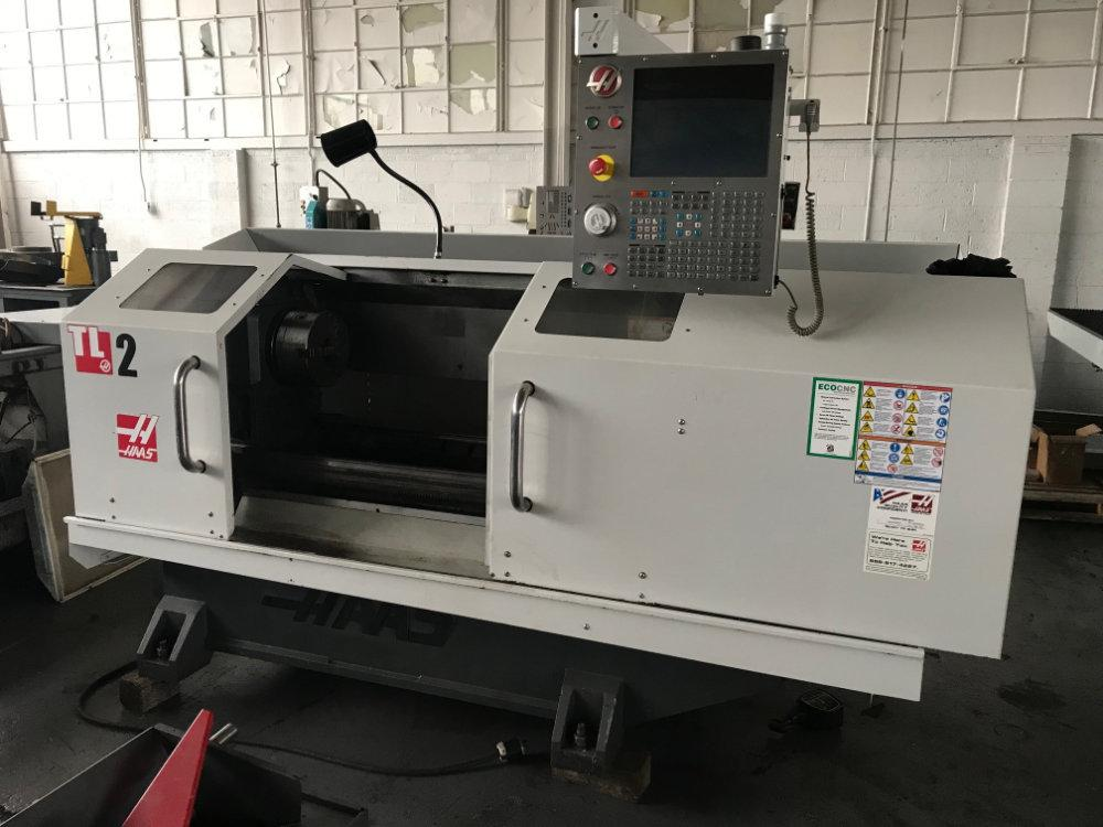 "Used HAAS TL-2 CNC TOOLROOM LATHE, Model TL2, 16"" x 48"", Stock No. 10512"