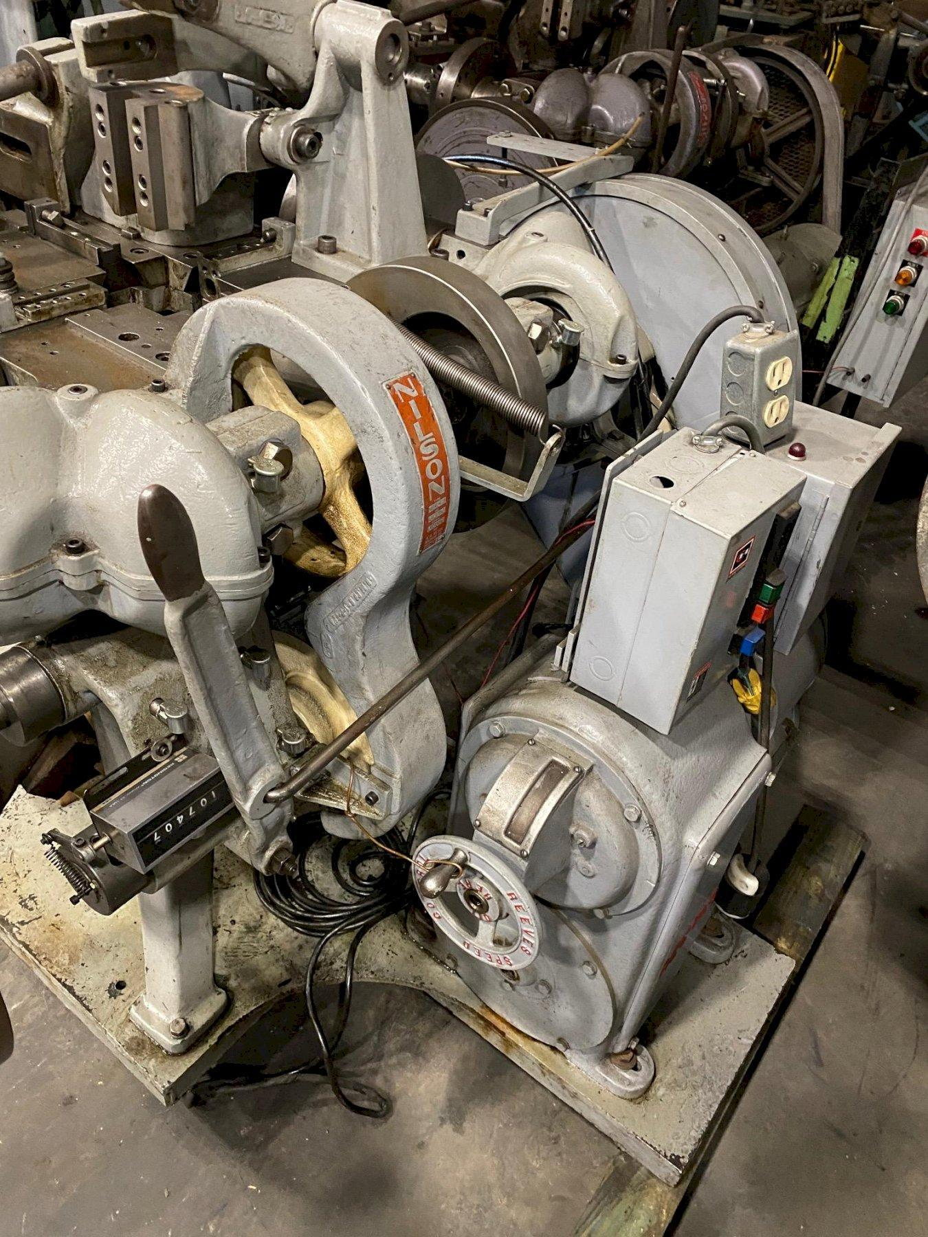 """3/32"""" Nilson Model S-1F Fourslide Wire Forming Machine"""