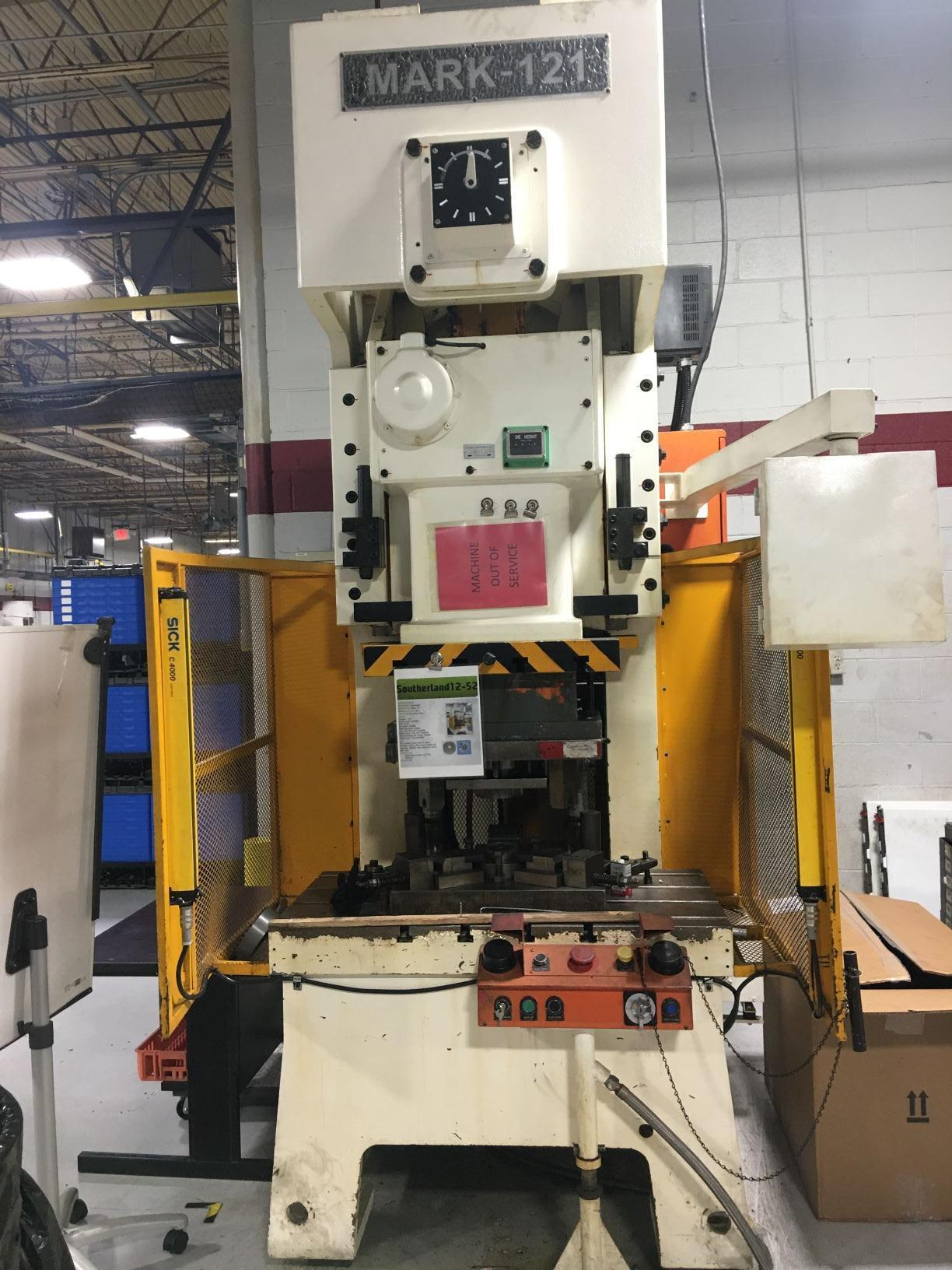 2013 Sutherland Mark 121-V Punch Press