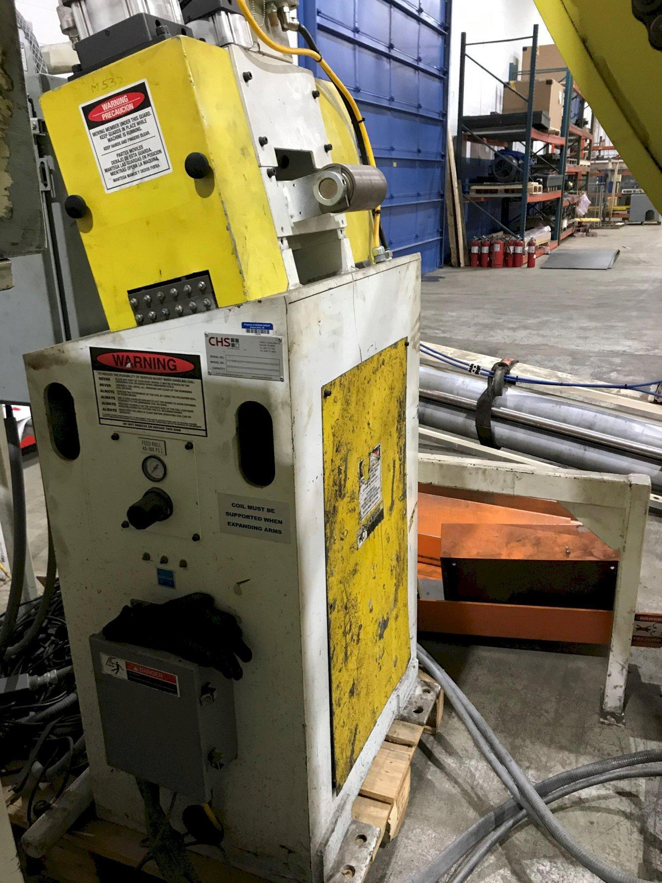 CHS Automation Motorized Pinch Roll Stand 12
