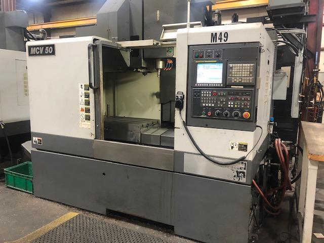 Samsung MCV-50 CNC Vertical Machining Center, Fanuc Oi, 41