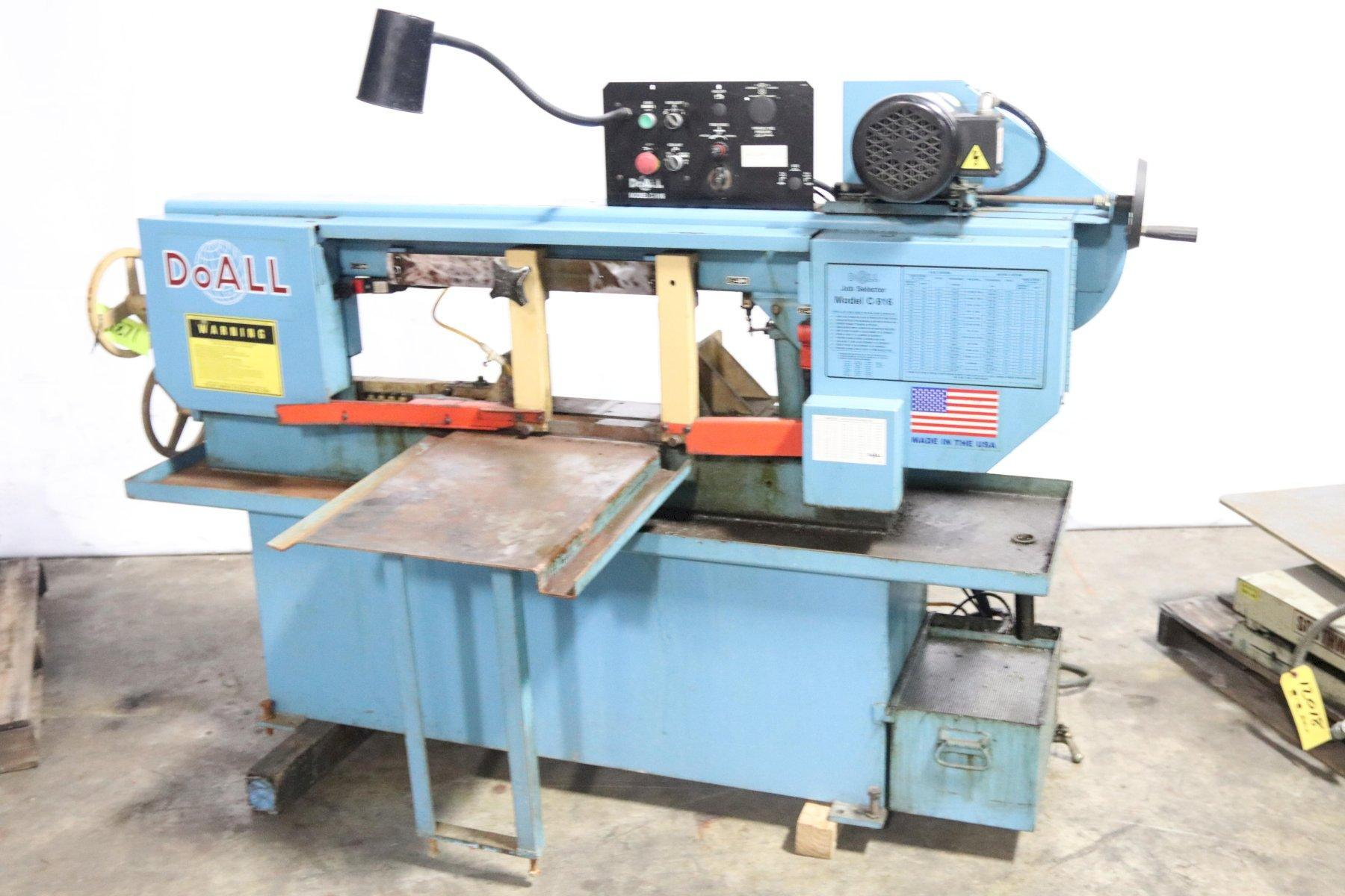 "9"" X 16"" DOALL MODEL #C-916M HORIZONTAL BAND SAW: STOCK #11871"