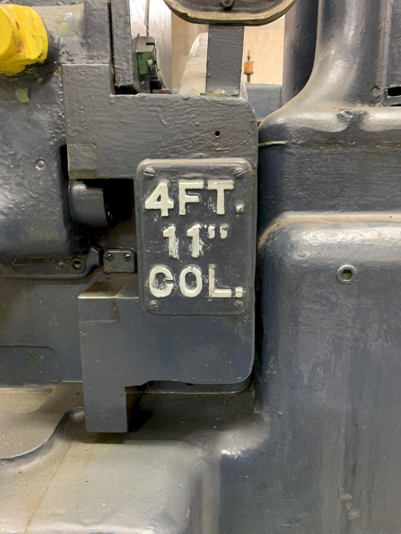 "American 4' 11"" Radial Arm Drill"