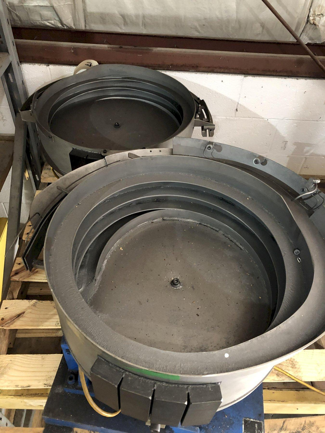 "21"" CCW Feeder Innovations Bowl, 14"" Drop Height"
