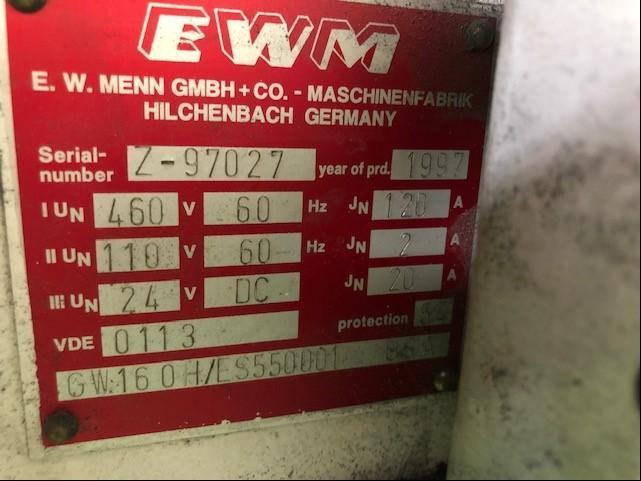 EW Menn Model 160H Flat Die Thread Roller