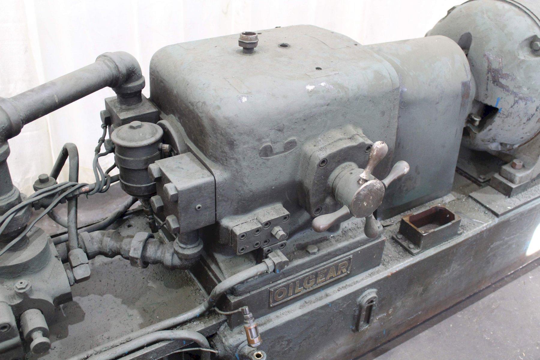 40 HP OILGEAR HYDRAULIC UNIT:  STOCK #72471