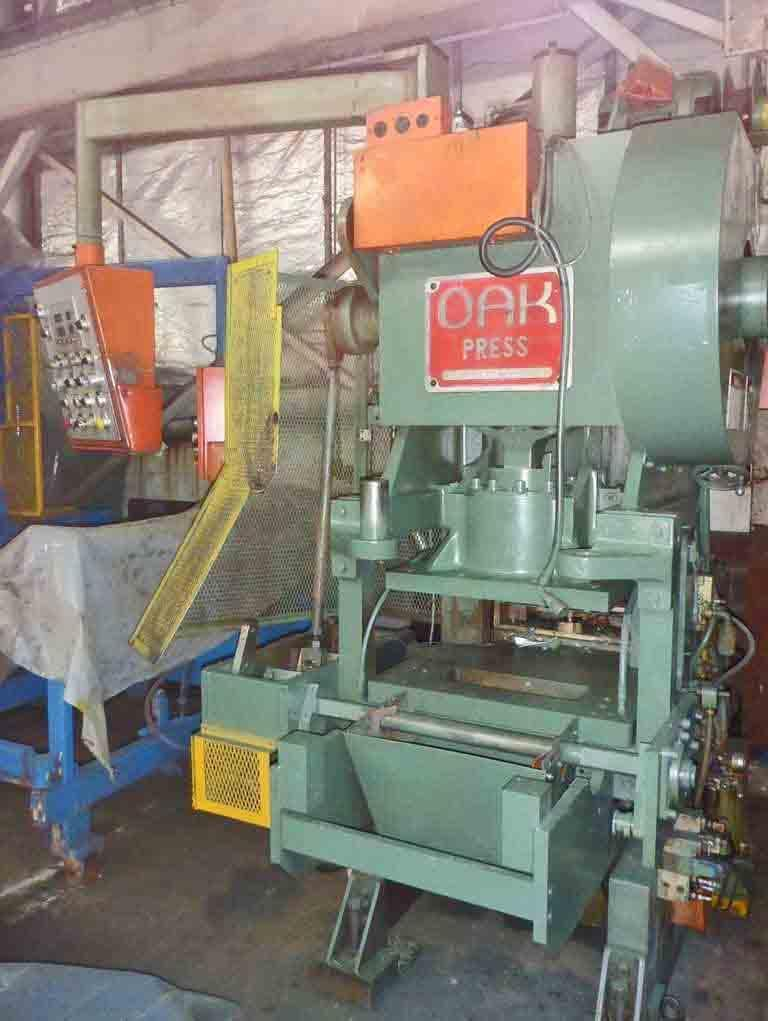 30 Ton Oak Fin Press Line