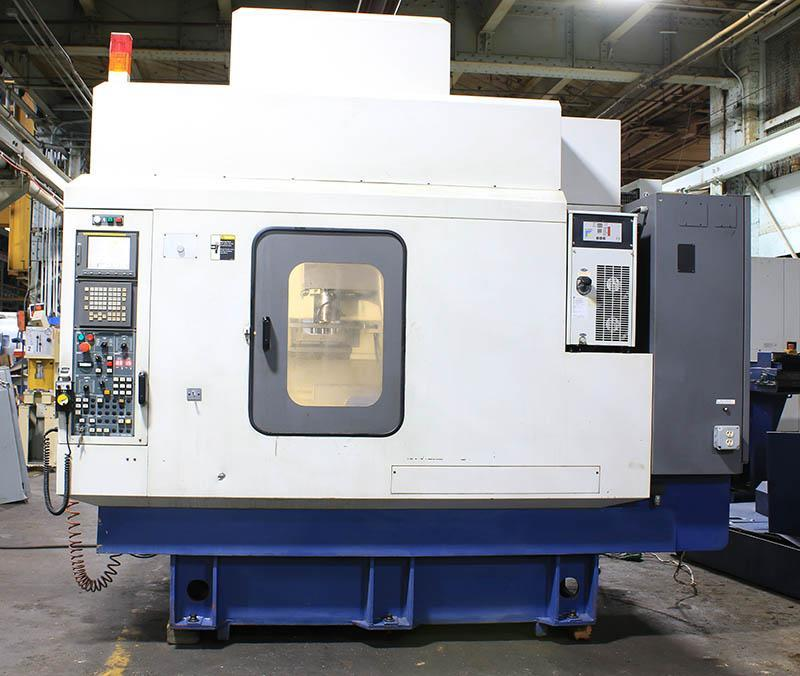YCM-Supermax TCV-51A Vertical Machining Center, 2003, APC