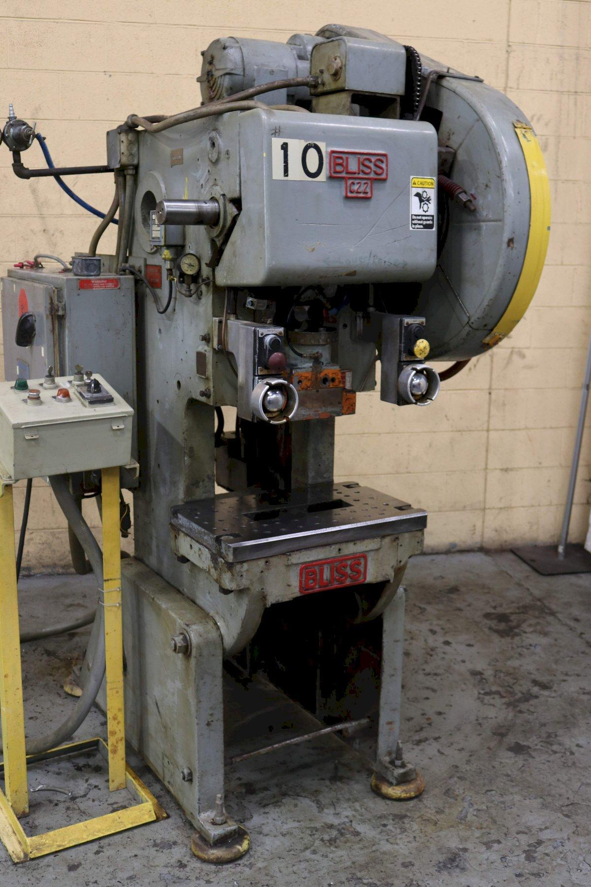 22 Ton Bliss OBI Press