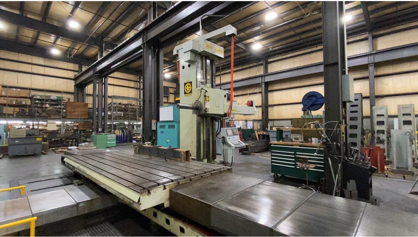 "6"" Giddings & Lewis Model G60-T 4-Axis CNC Horizontal Boring Mill"