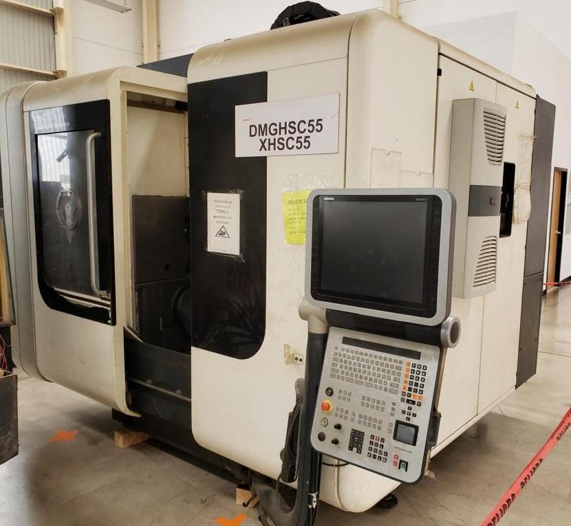 DMG Mori HSC 55 Linear Vertical Machining Center
