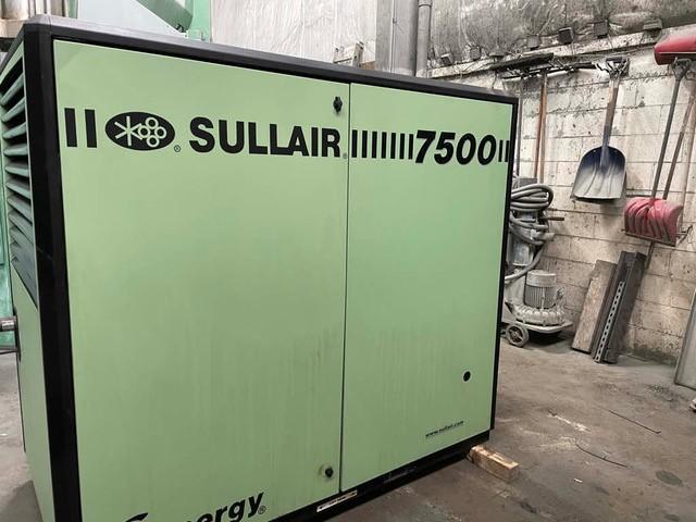 Sullair Model 7509 AC Rotary Screw Air Compressor