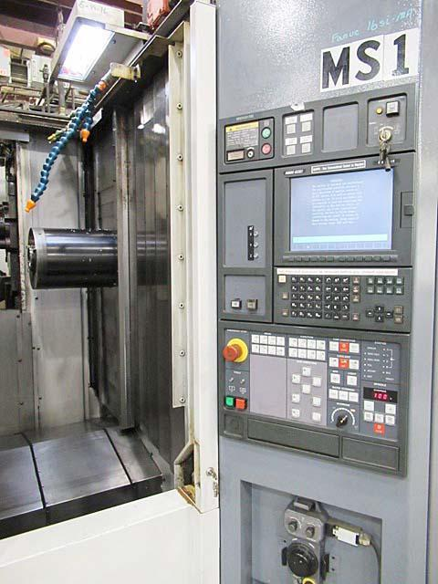 "MORI SEIKI SH-503, Fanuc 16i CNC Control, (2) 20"" Pallets, X=24.8"", Y=23.6"", Z=25.6"", Cat-50, 10,000 RPM, 60 Station Tool Changer, New 2002."