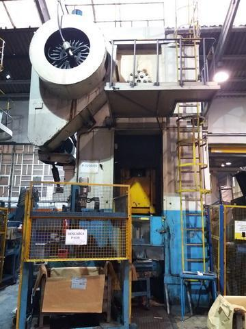 1250 Ton Arisa Forging Press