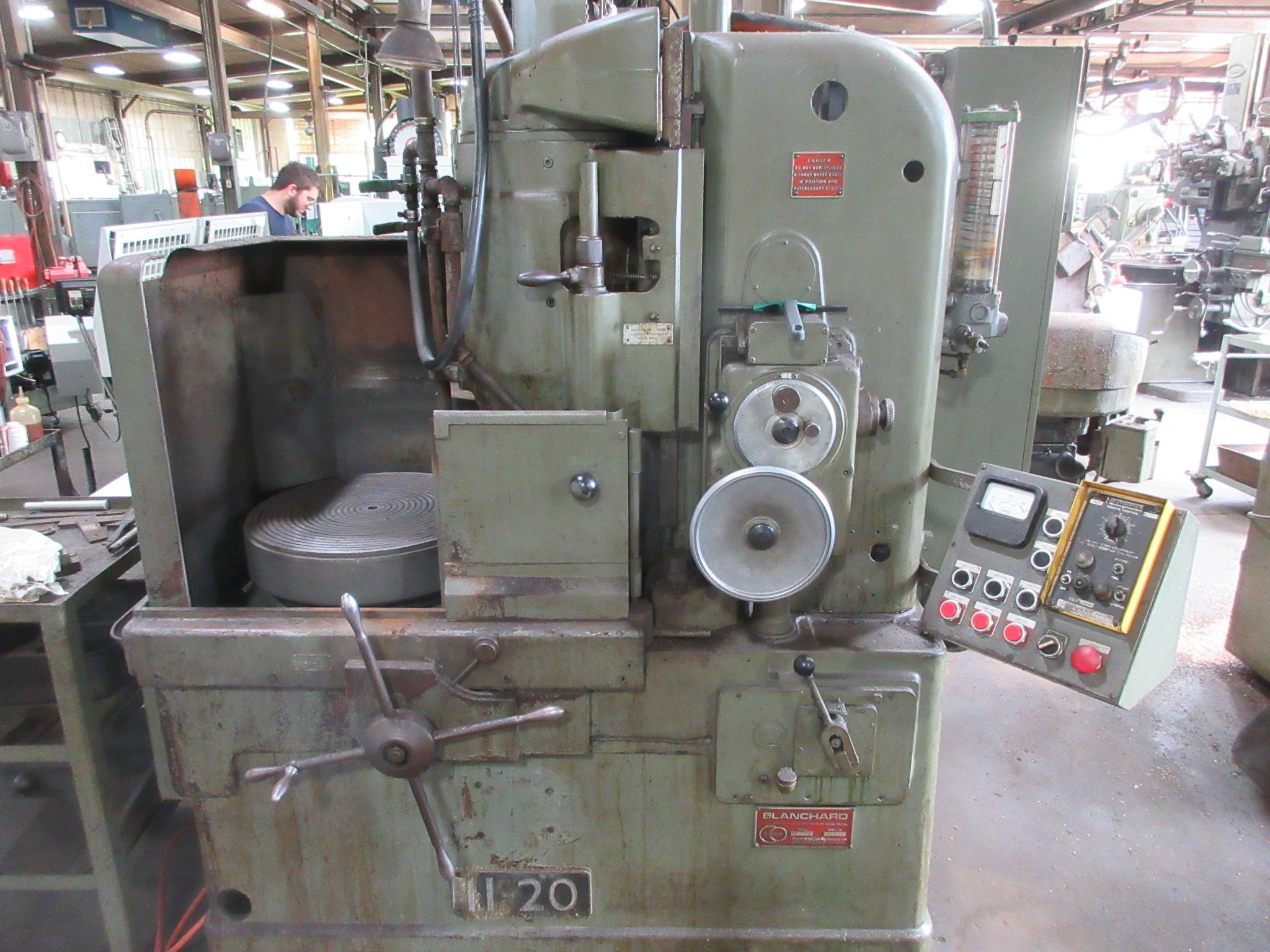 "Blanchard # 11-20, 20"" Diameter Vertical Spindle Rotary Surface Grinder"