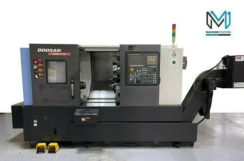 DOOSAN PUMA 2100 CNC TURNING CENTER
