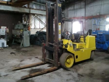 Forklift, Hyster, 15,000# STOCK # 2767