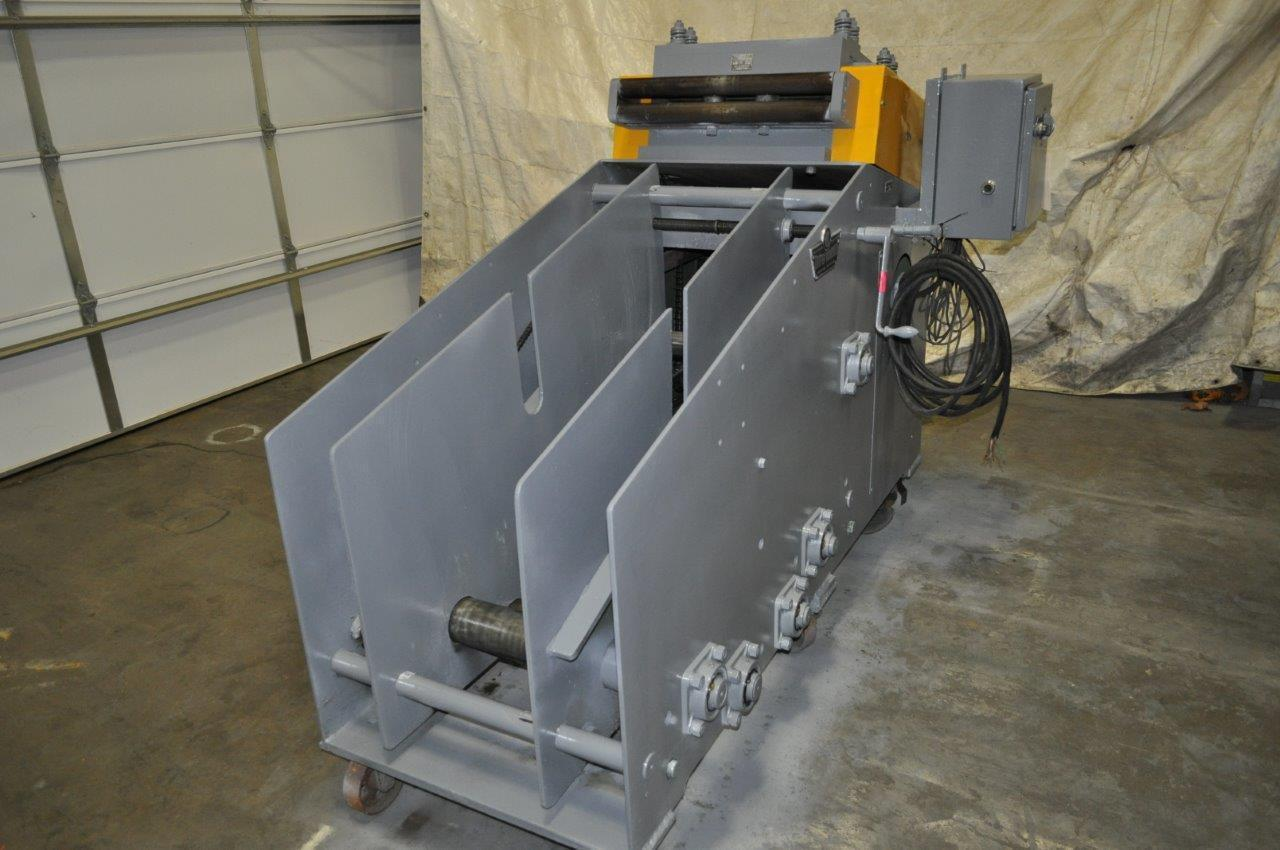 "5000 LB x 18"" x .187 COOPER WEYMOUTH PETERSON COIL CRADLE STRAIGHTENER"
