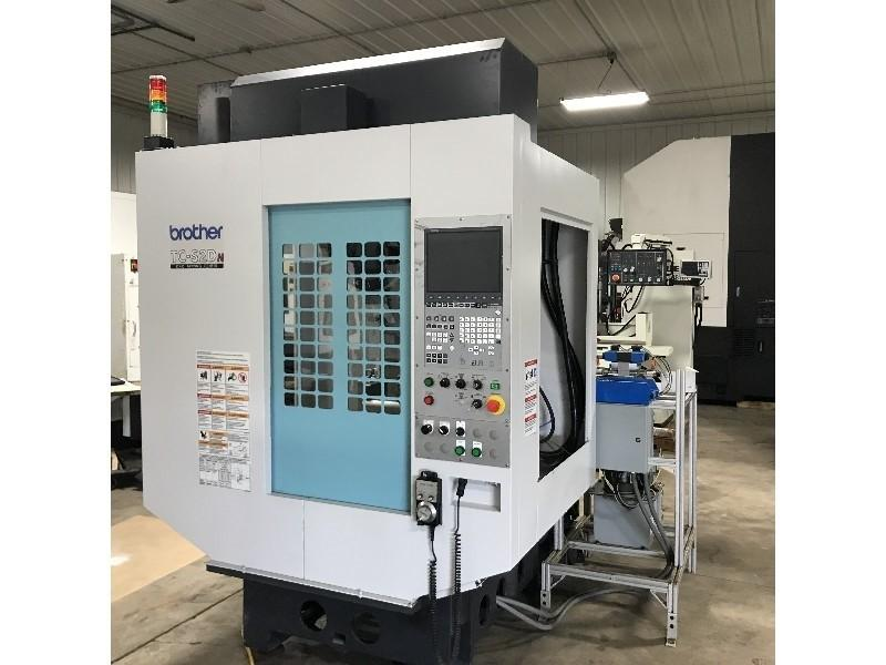 Brother Model TC-S2DN CNC Vertical Drill/Tap Machining Center, New 2013