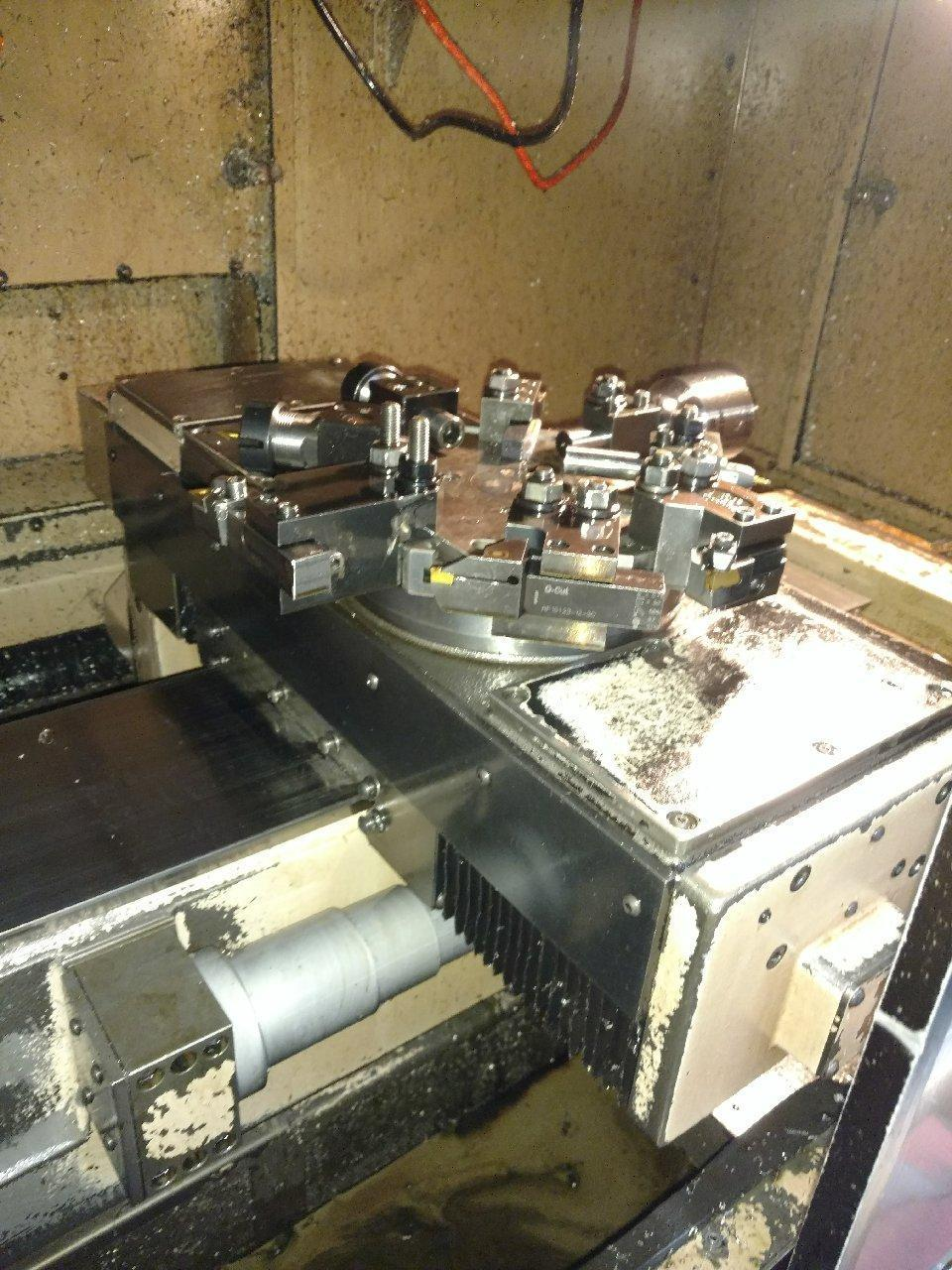 Hardinge Model CHNC III SP Super Precision CNC Turning Center