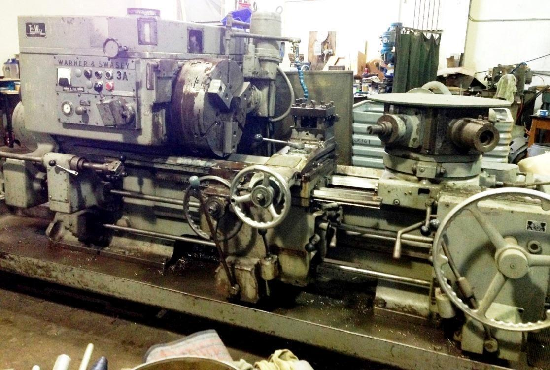 3A WARNER & SWASEY TURRET LATHE: STOCK #66524