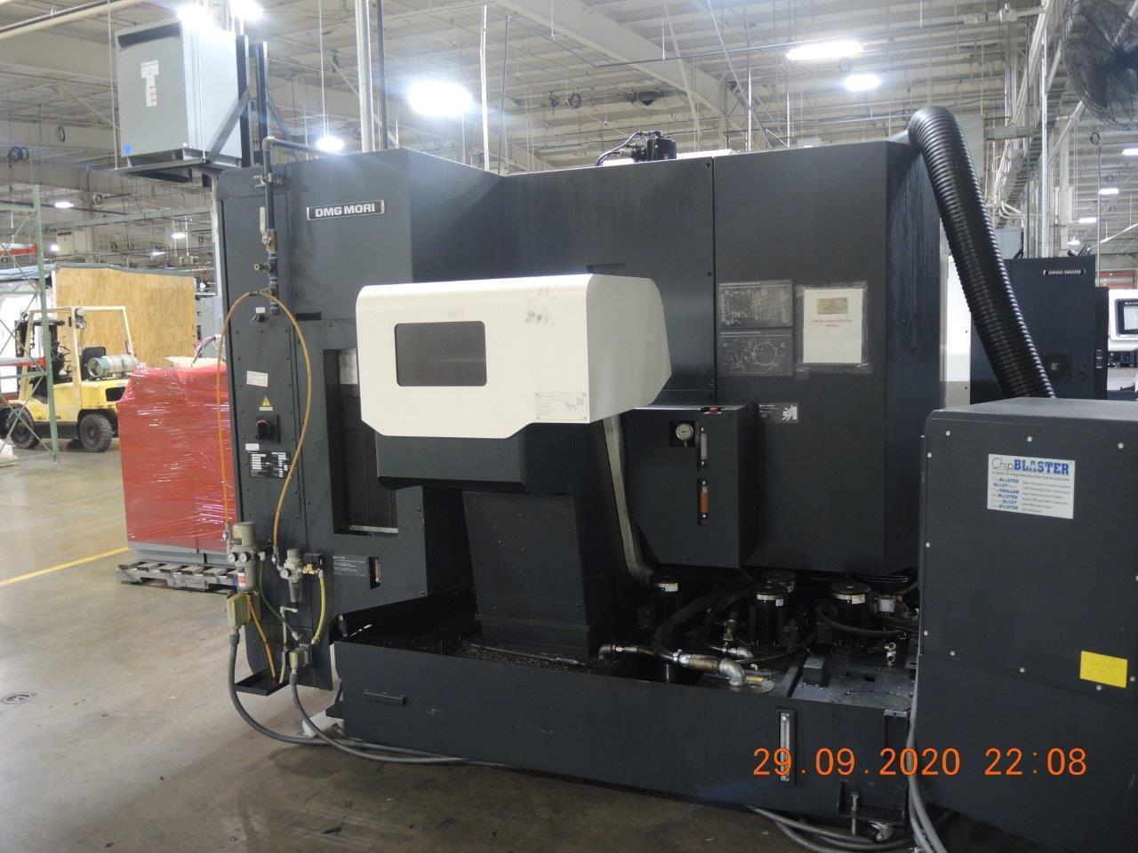 "DMG Mori NHX 4000 CNC Horizontal Machining Center, 15.7"" x 15.7"" Pallets, 15,000 RPM, HSK63 Taper, New 2017"